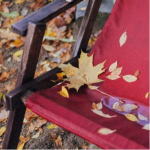 Landscaping winterization here in Frederick, MD includes cleaning and properly storing your outdoor furniture.