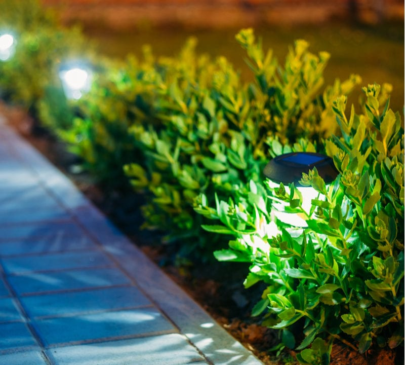 Outdoor lighting is a great way to highlight the best landscaping and hardscaping features in your Maryland lawn.